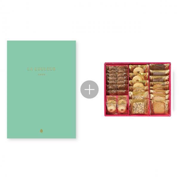 カタログ式ギフト「シュー」5,000円コース+ラミ・デュ・ヴァン・エノ焼き菓子詰合せ ※システム料別